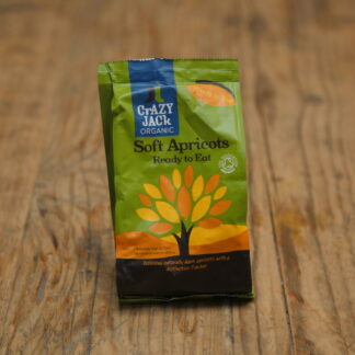 Crazy Jack Organic Dried Apricots 250g