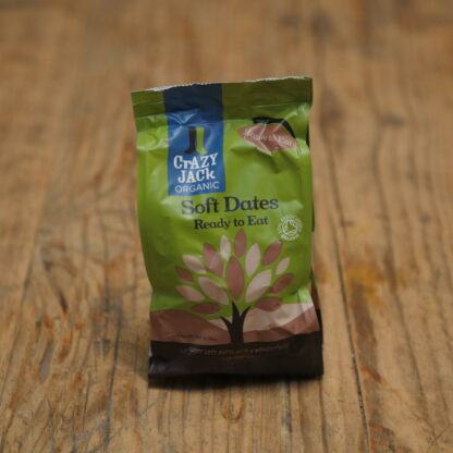 Crazy Jack Organic Soft Dates 250g