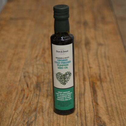 Sun & Seed Organic Cold Pressed Pumpkin Seed Oil 250ml