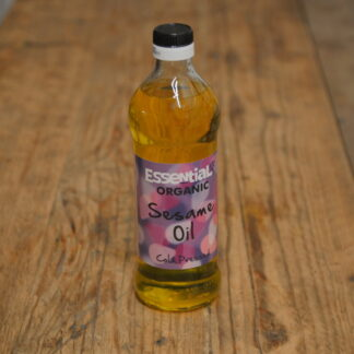 Essential Cold Pressed Sesame Oil 500ml