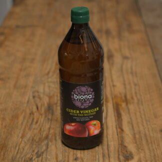 Biona Organic Cider Vinegar With The Mother 750ml