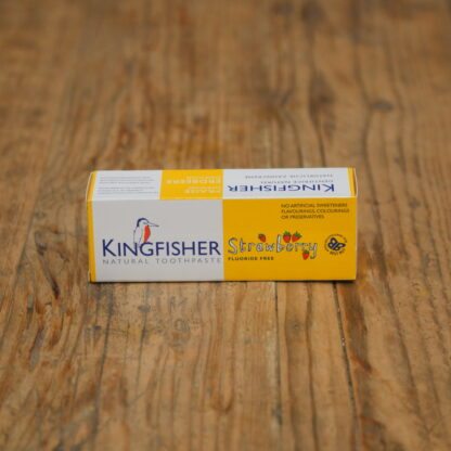 Kingfisher Fluoride Free Strawberry Toothpaste
