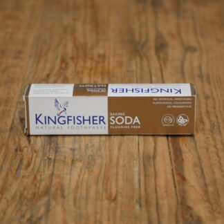 Kingfisher Fluoride Free Baking Soda Toothpaste