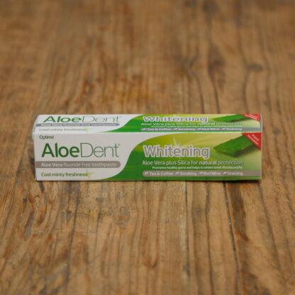 Aloe Dent Fluoride Free Whitening Toothpaste
