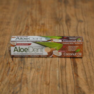 Aloe Dent Fluoride Free Coconut Oil Toothpaste