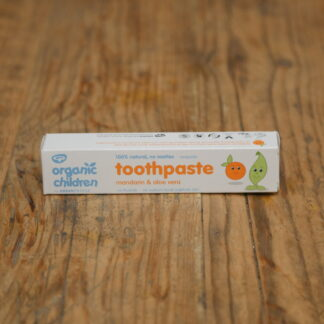Green People Mandarin & Aloe Vera Toothpaste 50ml