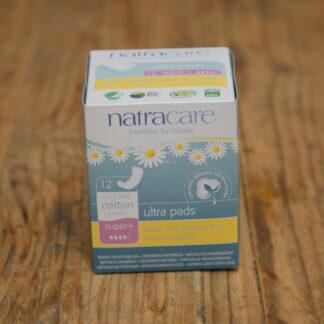 Natracare Super Plus Ultra Pads 12pack