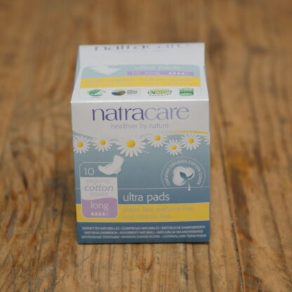 Natracare Ultra Pads Long 10pack