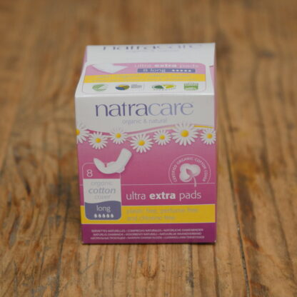 Natracare Ultra Extra Long Pads 8pack