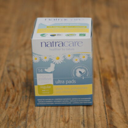 Natracare Ultra Regular Pads 14pack