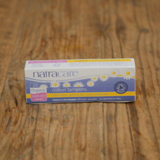 Natracare SuperPlus Cotton Tampons 20pack
