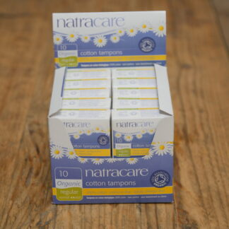Natracare Regular Cotton Tampons 10pack