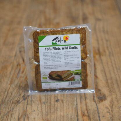 Taifun Wild Garlic Tofu Filets 160g