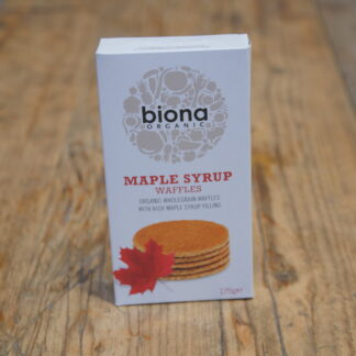 Biona - Maple Syrup Waffles