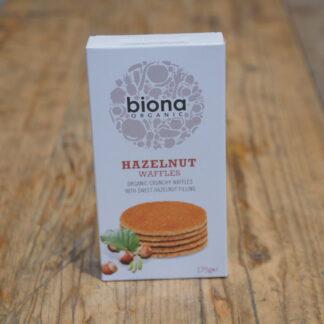 Biona - Hazelnut Waffles