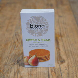 Biona - Apple & Pear Waffles
