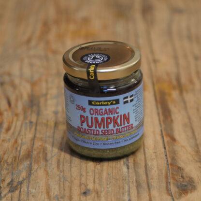 Carley's Organic Roasted Pumpkin Seed Butter 250g