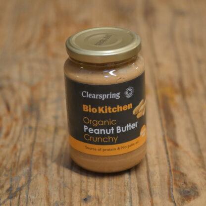 Clearspring Organic Crunchy Peanut Butter 350g