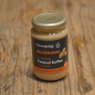 Clearspring Organic Smooth Peanut Butter 350g