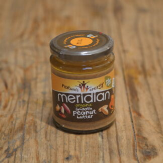 Meridian Organic Smooth Peanut Butter 280g/454g/1kg