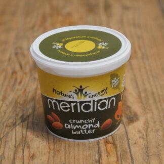 Meridian Organic Crunchy Almond Butter 1kg