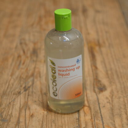 Ecoleaf Concentrated Washing Up Liquid 500ml