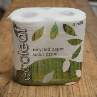 Ecoleaf Recycled Toilet Tissue 4 Pack