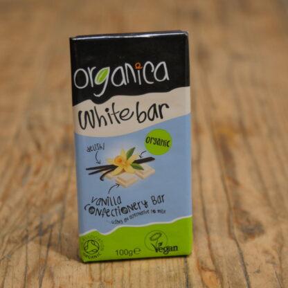Organica White Bar Vegan Chocolate