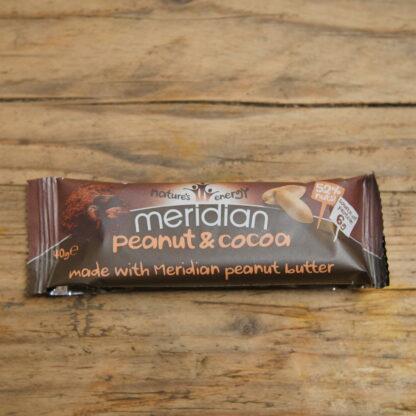 Meridian Peanut & Cacao Bar 40g