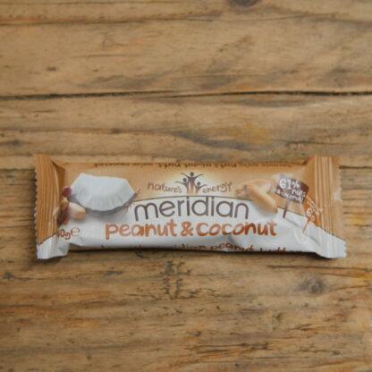 Meridian Peanut & Coconut Bar 40g