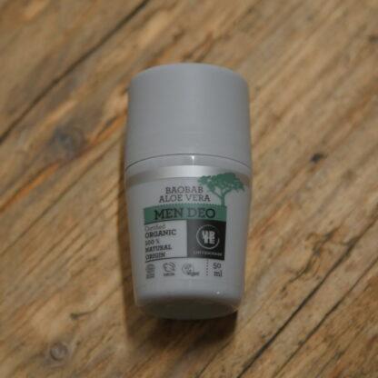 Urtekram Men's Baobab & Aloe Vera Deodorant